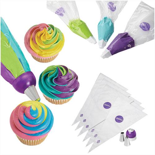 Color Swirl Tri Color Coupler Decorating - 9 dele - Wilton