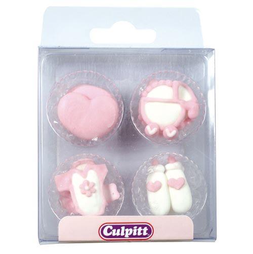 Baby Sukkerdekoration - Culpitt