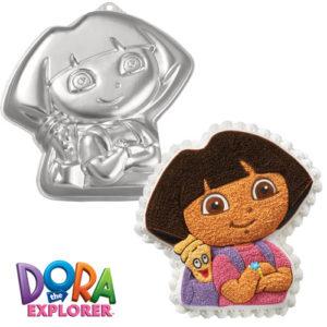 Dora the Explorer bageform - Wilton