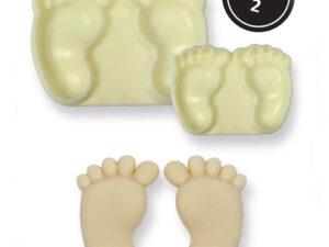Easy Pops Baby Feet Udstiksform - 2 dele - JEM