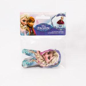 Disney Frozen kage topper - 24 stk