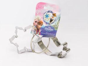 Disney Frozen Udstiksforme - Olaf og Snefnug