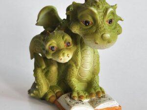 Dragemor læser for baby drage
