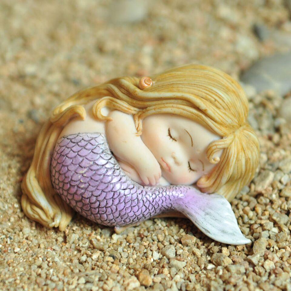 Little Mermaid Sleeping
