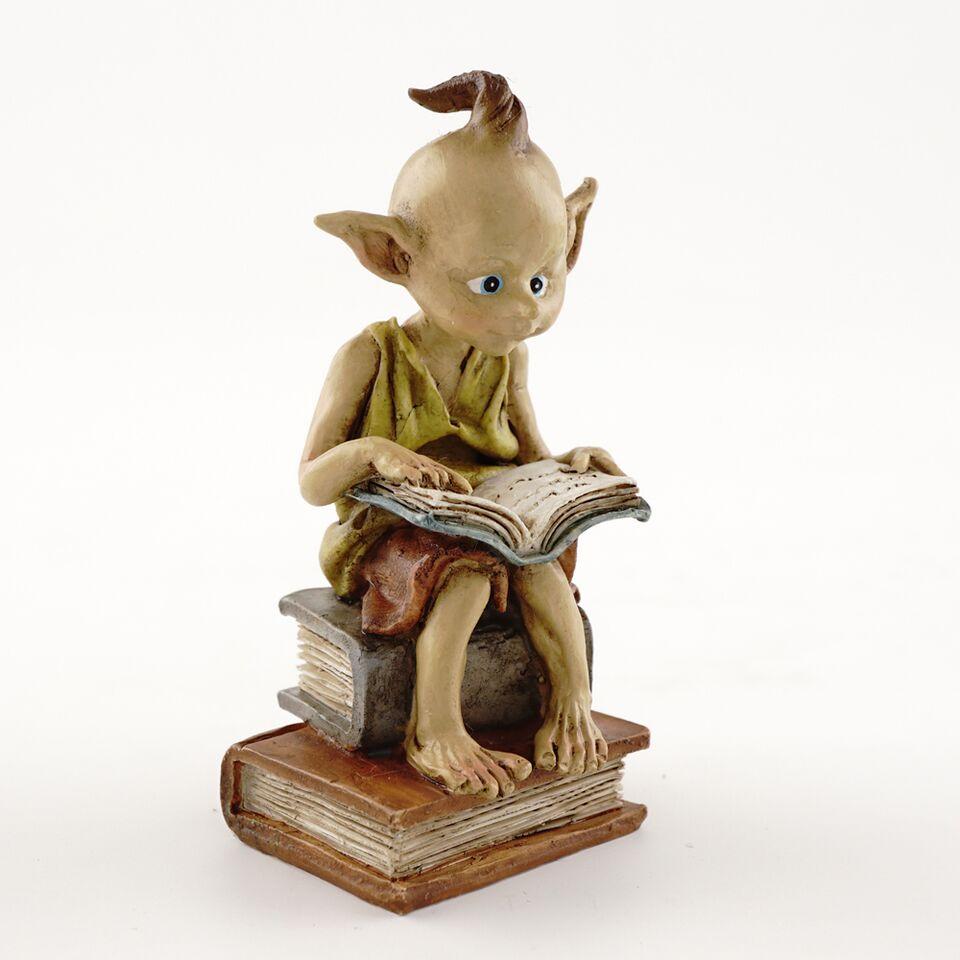 Pixie læser bog