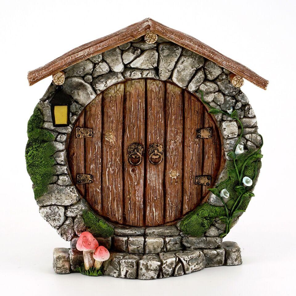Charming Round Fairy Door