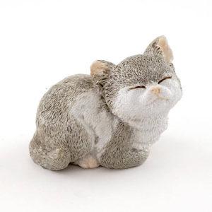 Grå miniature kattekilling