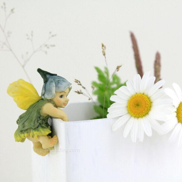 Fe blomster pynt