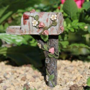 Miniature landpostkasse