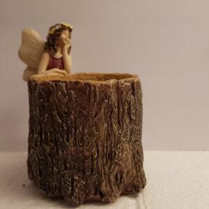 Mini urtepotte med fe