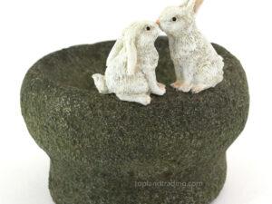 Kyssende kaniner
