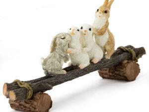Kanin familie leger